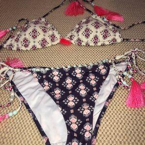 Victoria's Secret  Bikini with Tassel ties